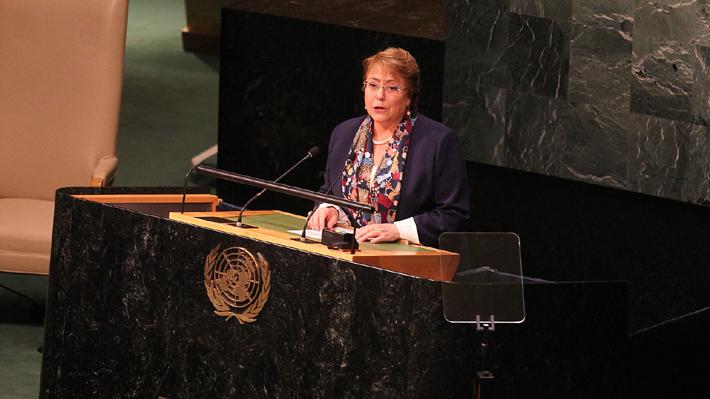 ONU nombra a Bachelet como parte de Junta Asesora de Alto Nivel sobre Mediación