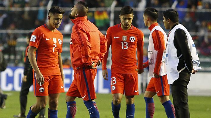 """Otro golpe para la """"Roja"""": Desciende en el ranking FIFA y se aleja la opción de ser cabeza de serie si va al Mundial"""