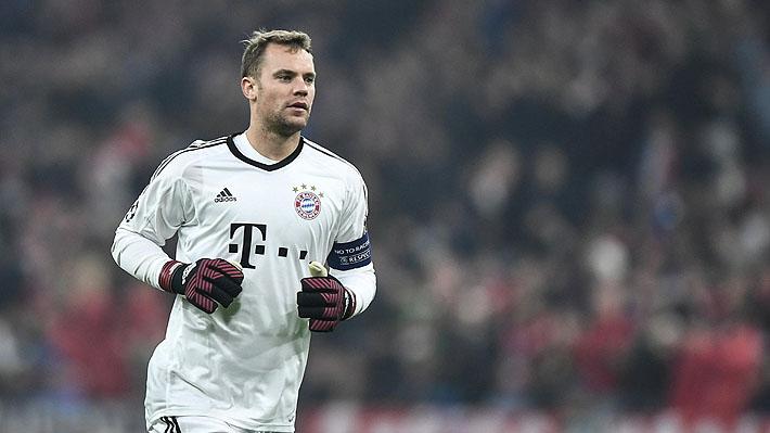 Sensible baja: Bayern Munich de Vidal confirma que Neuer se volvió a lesionar el pie izquierdo