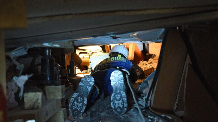 El rescate de Frida Sofía, la niña atrapada bajo los escombros en México cuya real identidad aún es un misterio