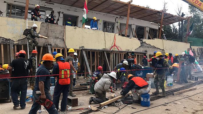 """Autoridades descartan presencia de niños entre escombros de colegio en México: Frida Sofía """"no fue una realidad"""""""