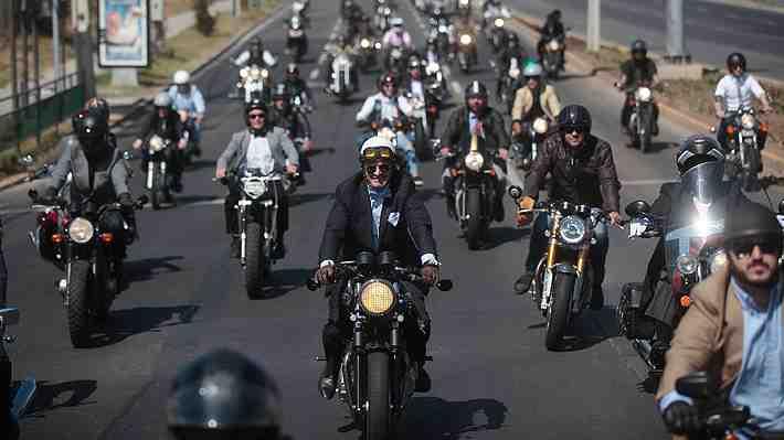 Motociclistas vestidos de gala recorrerán Santiago en apoyo a la prevención del cáncer de próstata