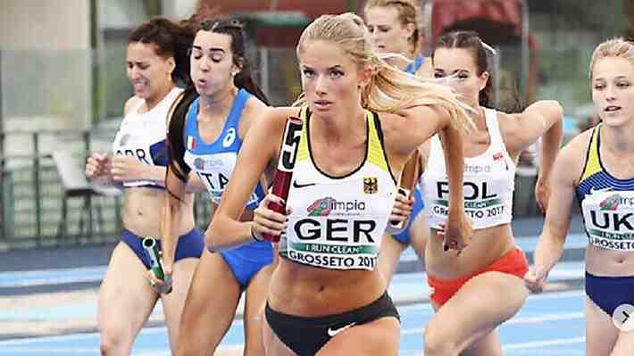 """La promesa del deporte alemán que ya es considerada como la atleta """"más sexy del mundo"""""""