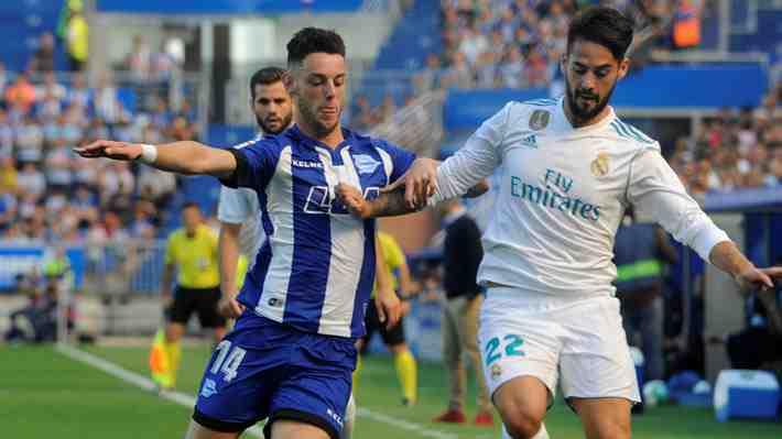 """""""Inverosímil y espectacular:"""" El increíble control de pelota de Isco que es aplaudido por todos en España"""