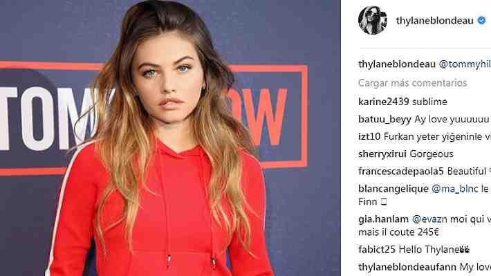 """Thylane Blondeau, """"la niña más hermosa del mundo"""", deslumbró en la Semana de la Moda de Milán"""