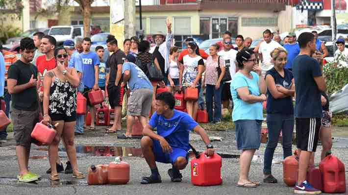 "Gobernador de Puerto Rico teme una ""crisis humanitaria"" tras huracán María"