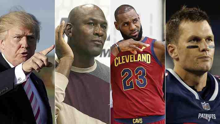 Jordan, LeBron y Brady: Figuras del deporte de EE.UU. se lanzan contra Trump ¿Cómo lo ves?