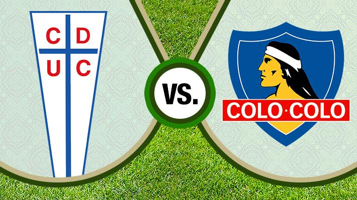 Reviva el relato de la victoria de Colo Colo sobre la UC en San Carlos