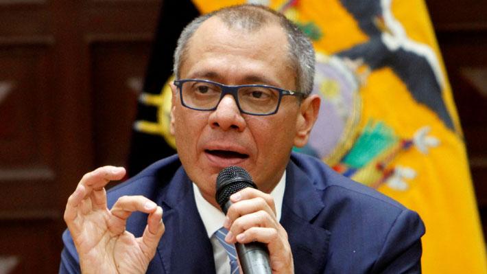 """Caso Odebrecht: Vicepresidente de Ecuador acata """"bajo protesta"""" orden de prisión en su contra"""