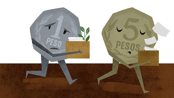 El fin de las monedas de $1 y $5: ¿Cuál será su destino final tras ser retiradas de las calles?