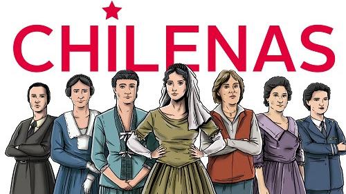 """""""Chilenas"""", el libro que rescata las historias de diez mujeres que fueron fundamentales para la historia del país"""