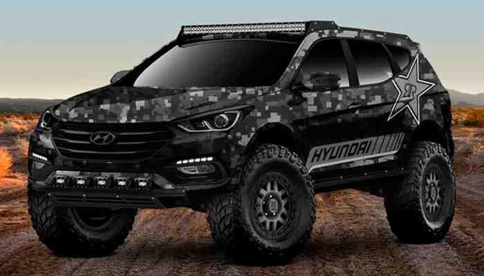 Hyundai presentará la versión más ruda y todoterreno de su popular Santa Fe