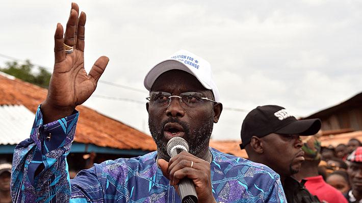 El nuevo desafío del ex atacante y único Balón de Oro africano George Weah: Ser presidente de Liberia
