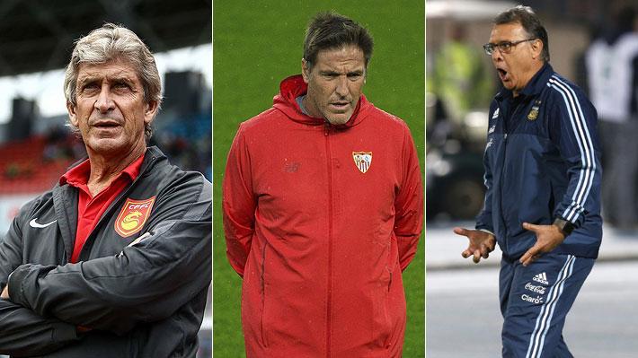 Vota y opina: ¿Quién crees que debería ser el nuevo técnico de la selección chilena?