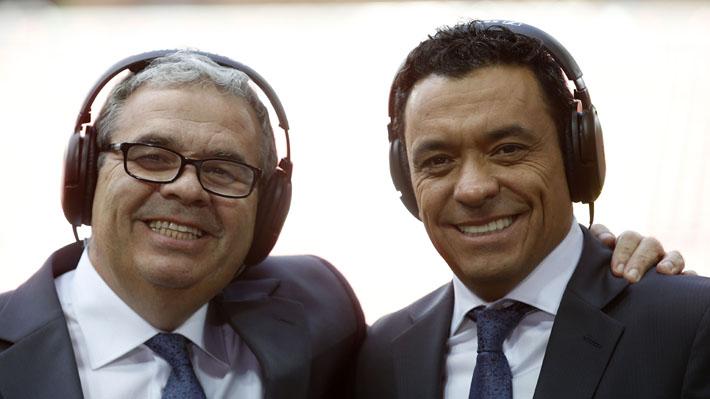 Tras despidos de profesionales del área deportiva, Canal 13 confirma continuidad de Claudio Palma y Aldo Schiappacasse