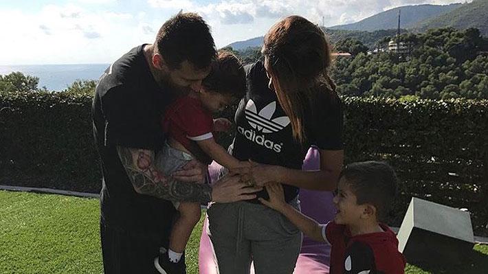 Lionel Messi y Antonela Rocuzzo anuncian que serán padres por tercera vez