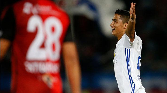 La U le dio el primer golpe a Antofagasta en las semifinales de Copa Chile con una gran actuación del juvenil Nicolás Guerra