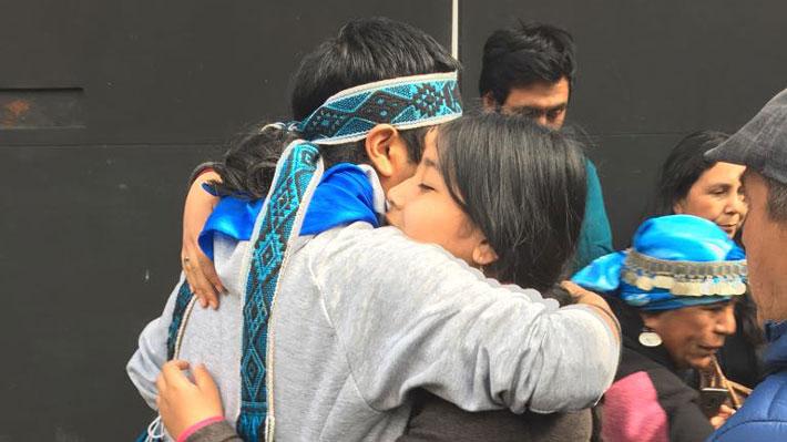"Comuneros mapuches formalizados por ""Operación Huracán"" son puestos en libertad"