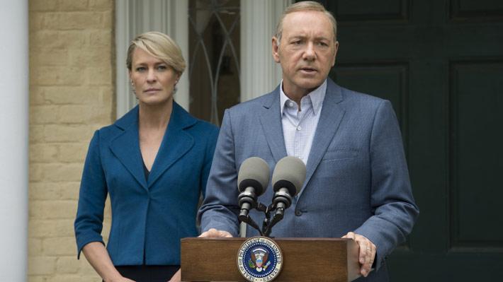 """Producción de """"House of Cards"""" es suspendida """"indefinidamente"""" tras acusación contra Kevin Spacey"""