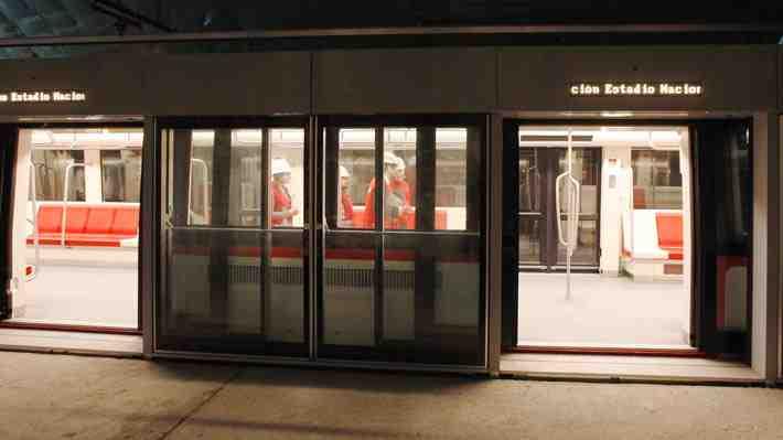 [VIDEO 360°] Conoce por dentro las estaciones y trenes de la nueva Línea 6 del Metro de Santiago