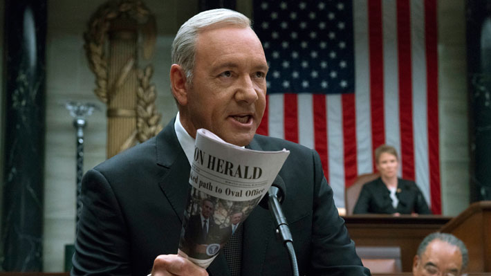 """Ahora trabajadores de """"House of Cards"""" acusan a Kevin Spacey de abusos sexuales"""