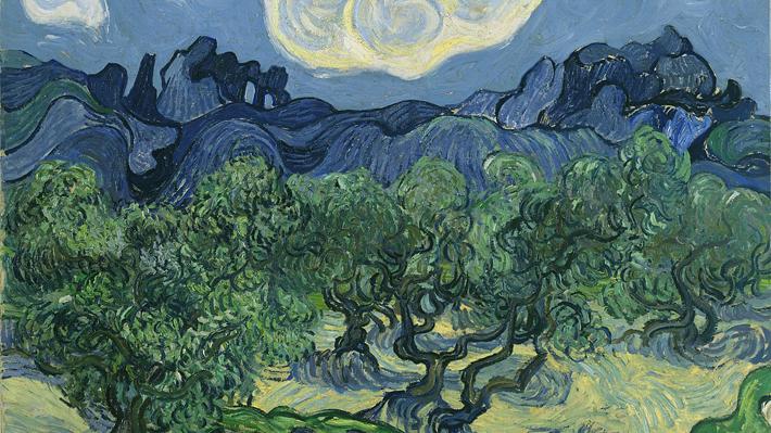 Saltamontes de 128 años de antigüedad fue encontrado incrustado en una pintura de Vincent Van Gogh