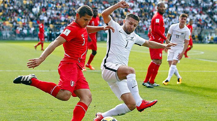 Perú rescata un empate desde Nueva Zelanda y queda en buen pie para clasificar al Mundial de Rusia