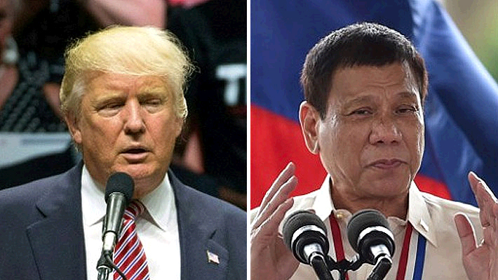 """Amnistía Internacional insta a Trump a enfrentar a Duterte por su polémica """"guerra contra las drogas"""""""