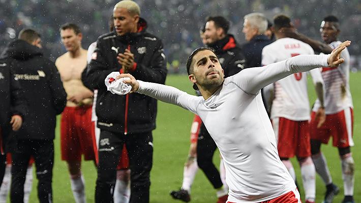 """El chileno que fue desechado por Borghi en la """"Roja"""" y que ahora es el héroe de Suiza al clasificarla al Mundial"""