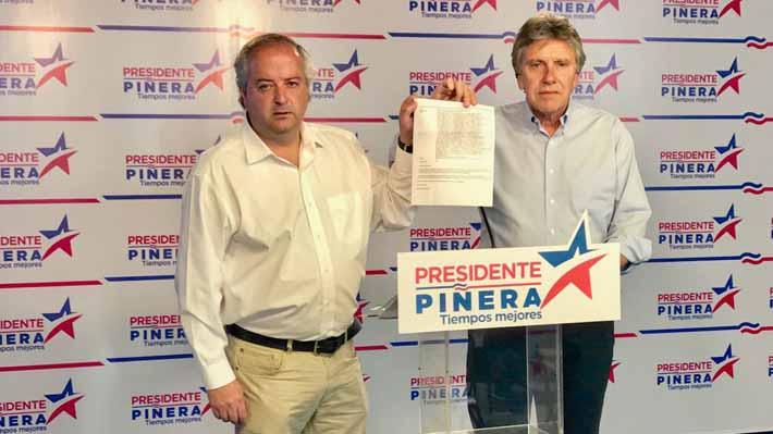 Comando de Piñera acudirá a Contraloría por denuncia de intervencionismo contra funcionario de Conadi