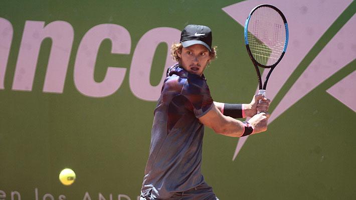Nicolás Jarry avanzó en el Challenger de Santiago y podría enfrentar a Gonzalo Lama en 2ª ronda