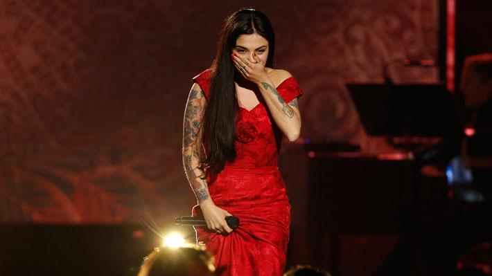 Mon Laferte consolida carrera musical ganando su primer Grammy Latino