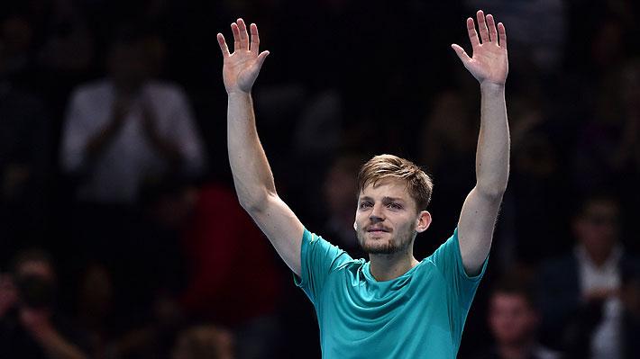 David Goffin da la sorpresa ante Roger Federer y lo deja sin final en el Masters de Londres
