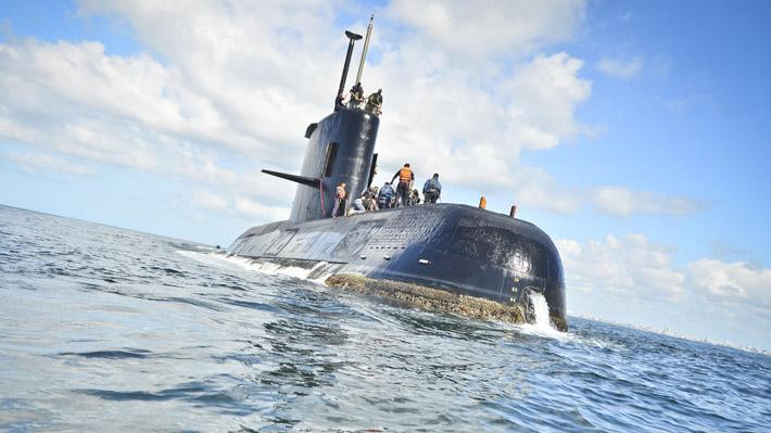 Armada argentina ya rastreó la mitad del área donde desapareció el submarino ARA San Juan