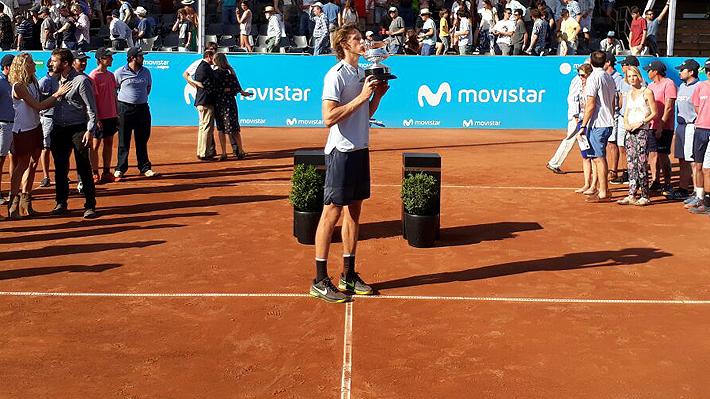 ¡¡¡Campeón!!! Jarry gana el Challenger de Santiago y por primera vez en su carrera ingresa al Top 100
