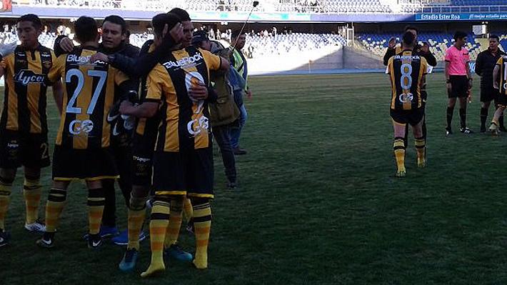 En una infartante definición, Velásquez y Vial lograron ascender a la Segunda División Profesional