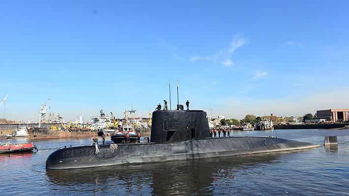 Detectan llamadas de emergencia que podrían provenir del submarino argentino perdido en el Atlántico