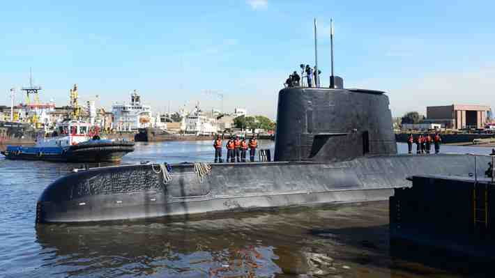 """""""Están afuera, gracias a Dios"""", el esperanzador mensaje del hermano de un tripulante del submarino argentino extraviado"""
