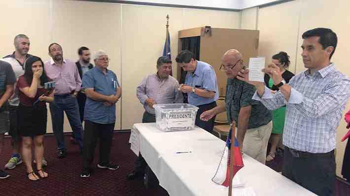 Voto en el exterior: Guillier y Sánchez se imponen en las primeras mesas escrutadas en Australia