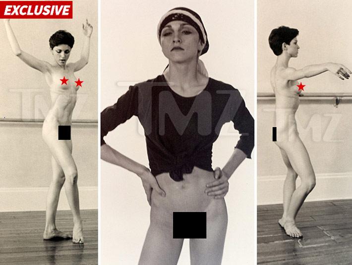 Más De 100 Fotos De Madonna Desnuda A Los 18 Años Serán Subastadas