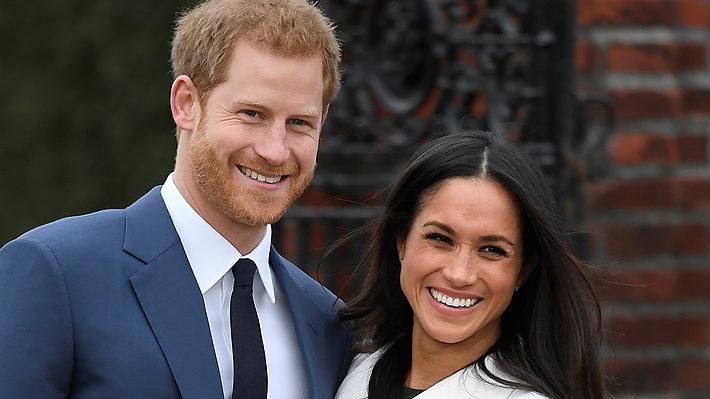 Revelan la fecha y el lugar en que Meghan y el príncipe Harry contraerán matrimonio