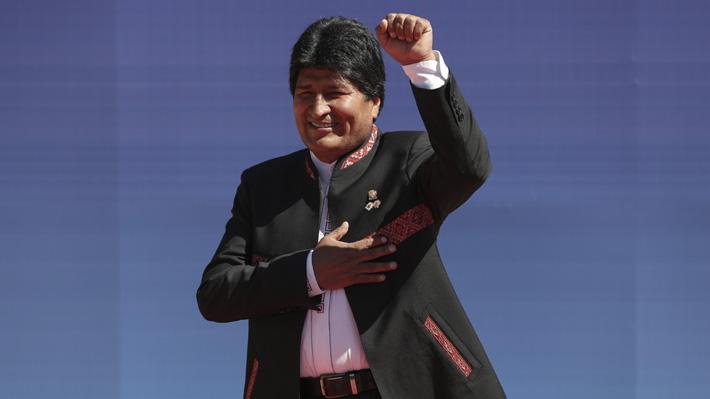 Evo Morales es habilitado por el TC de Bolivia para una nueva reelección