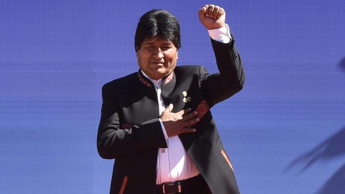 """Morales califica de """"sorpresa"""" fallo que le permitirá repostulación y dice que """"garantiza la continuidad democrática"""" en Bolivia"""