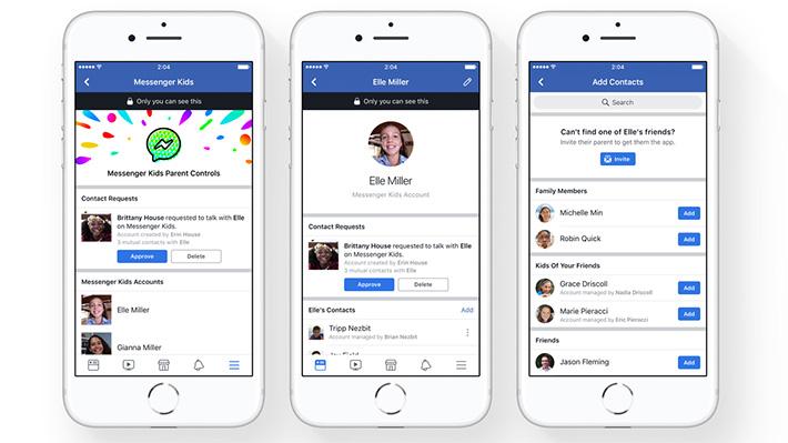 Messenger Kids: Cómo es la nueva aplicación de mensajería de Facebook hecha para niños