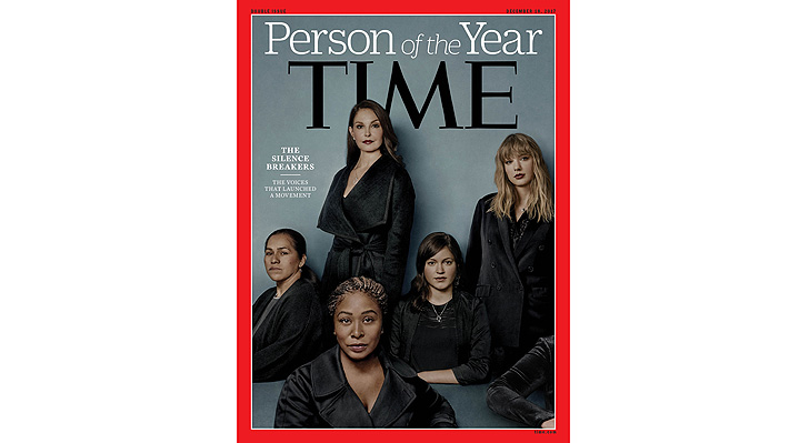 """Revista Time elige """"persona del año"""" a las mujeres que """"rompieron el silencio"""" sobre el acoso sexual"""