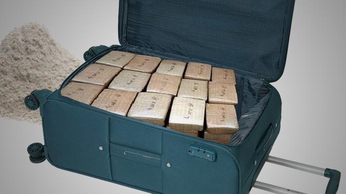 Pasajero sufrió cambio de maleta por una con cocaína: Justicia condenó a Latam