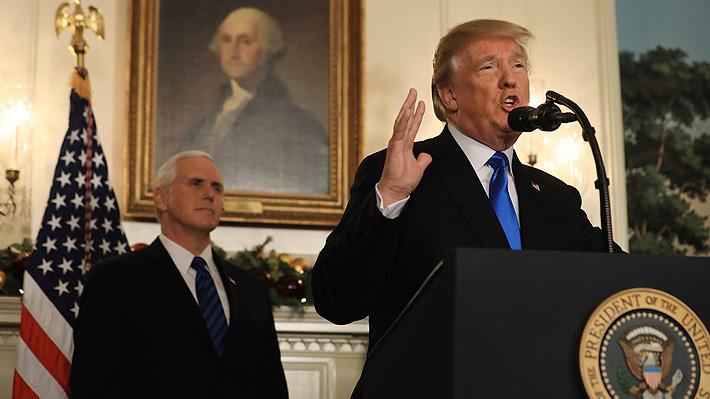 Trump agita el ambiente en Medio Oriente al reconocer a Jerusalén como capital israelí