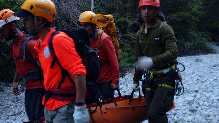 Encuentran con vida a joven extraviada hace 6 días en Laguna de la Plata