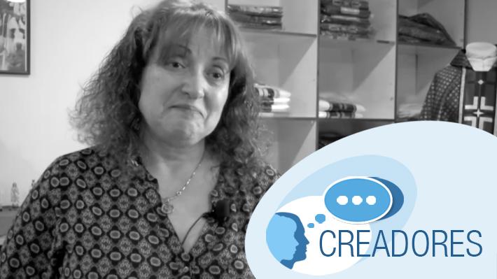 #Creadores: Daya Fernández y su delicada labor de confeccionar y bordar prendas