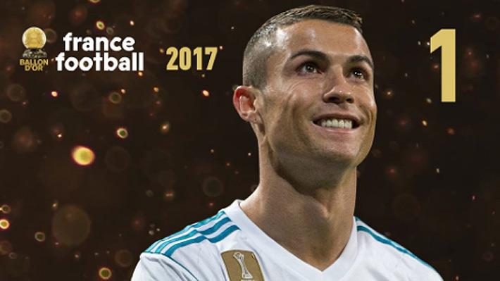 Cristiano Ronaldo gana su quinto Balón de Oro y alcanza el récord de Messi
